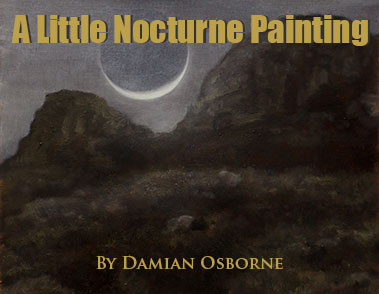 A Little Nocturne Oil Painting