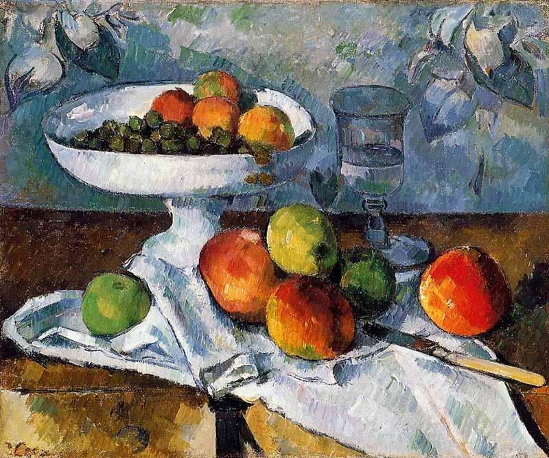 Cezanne_Nature_morte_au_compotier what's the point of art