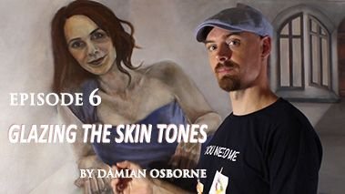 Glazing Skin Tones in Oil Painting