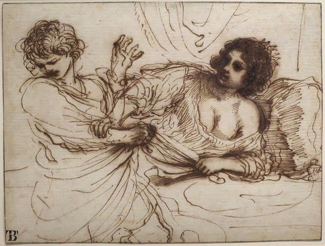 Guercino, Joseph and Potiphar's Wife'
