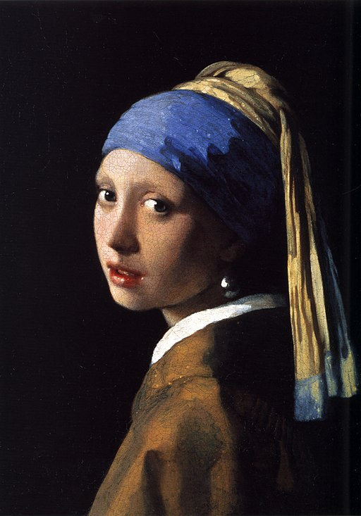 Johannes Vermeer (1632-1675) The Girl With The Pearl Earring (1665)