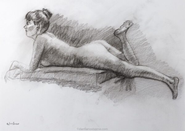 Figure drawing, Damian Osborne