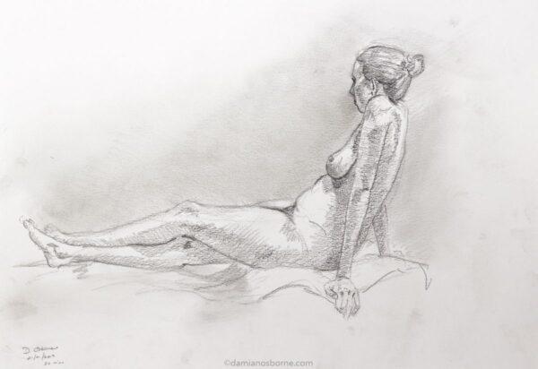 Figure drawing, Damian Osborne