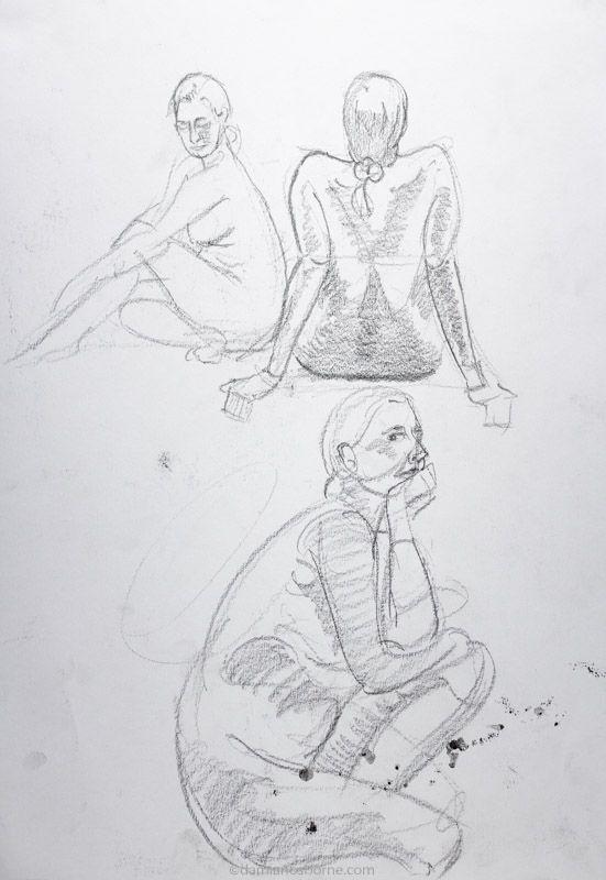 Life drawing poses 5 minutes