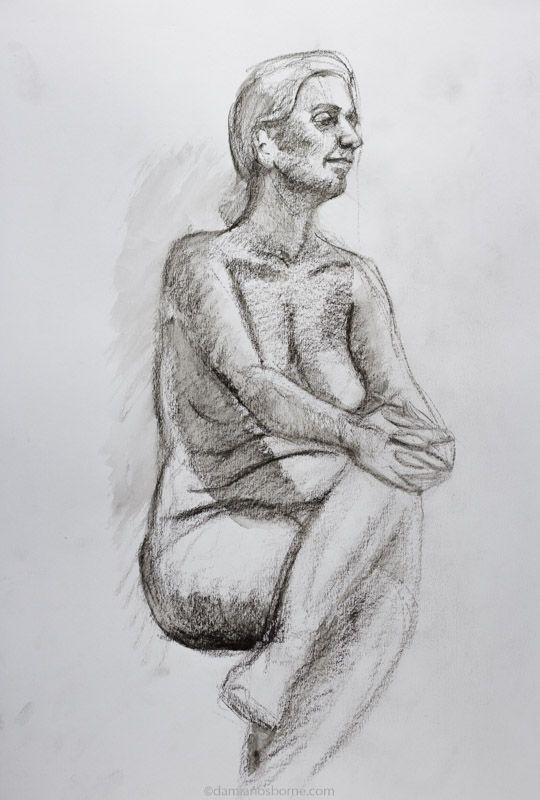Half hour life drawing pose