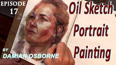 Alla Prima Portrait Study in Oils