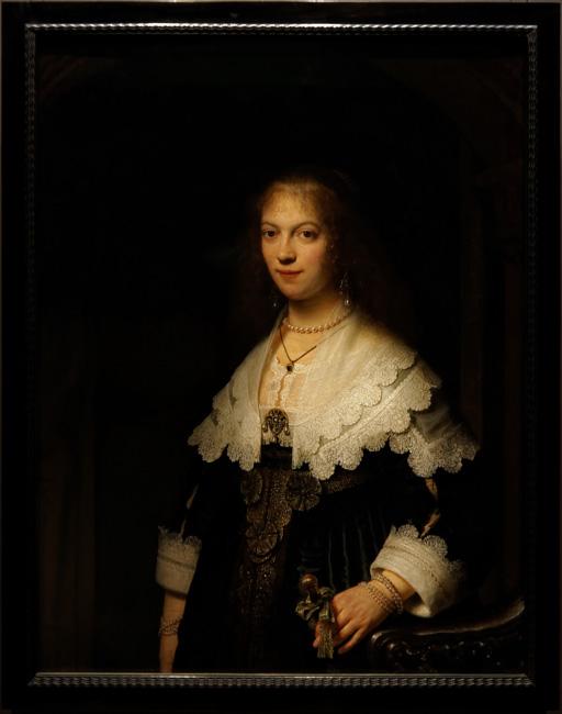 Portrait of Maria Trip by Rembrandt