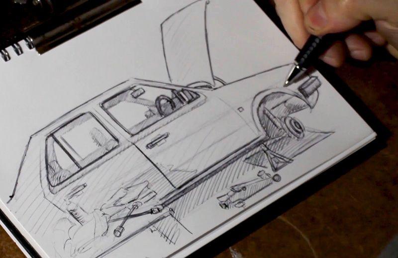 Sketching-random-things-everyday
