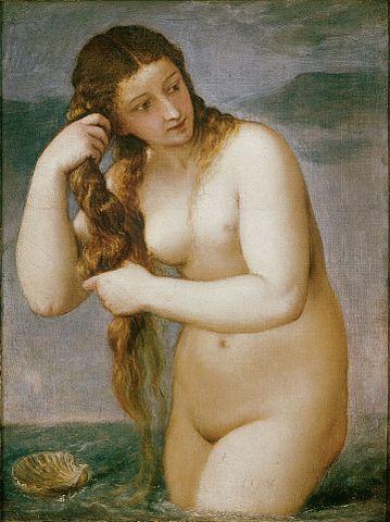 Titian - Anadyomene-Damian-Osborne