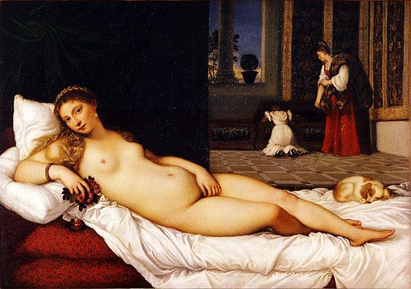 Titian-Venus-of-Urbino-Damian-Osborne-realistic-figurative-painting