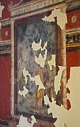 Upper cubiculum of Emperors Study, House of Augustus, Palatine Hill, Rome