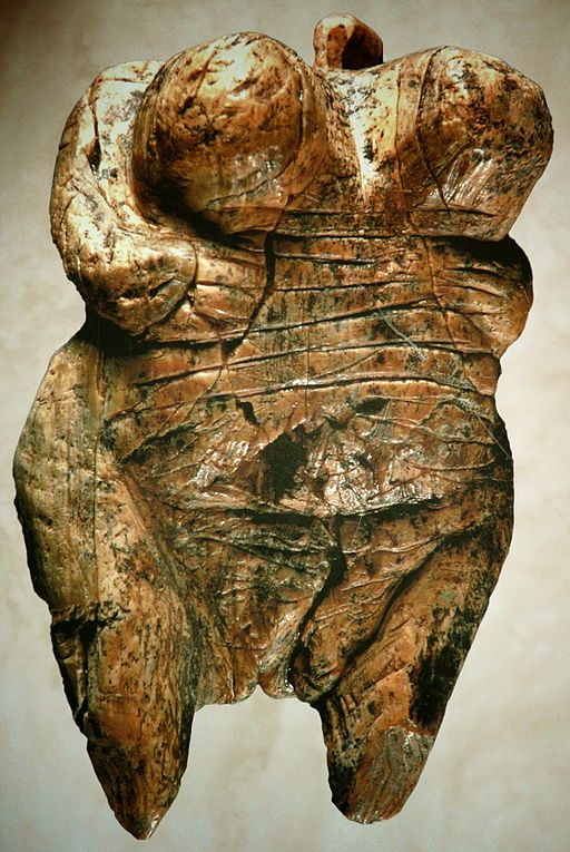 Paleolithic Figure Venus of Hohlefels (of mammoth ivory)