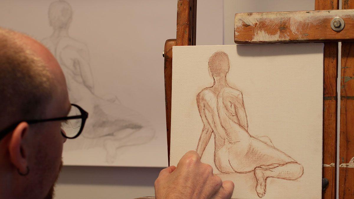 Working on Siren Series, Damian Osborne